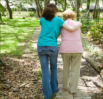 Aging and help with financial matters