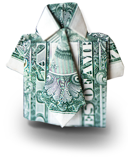 Dollar Bill Shirt and Tie