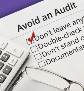 Avoid an Audit